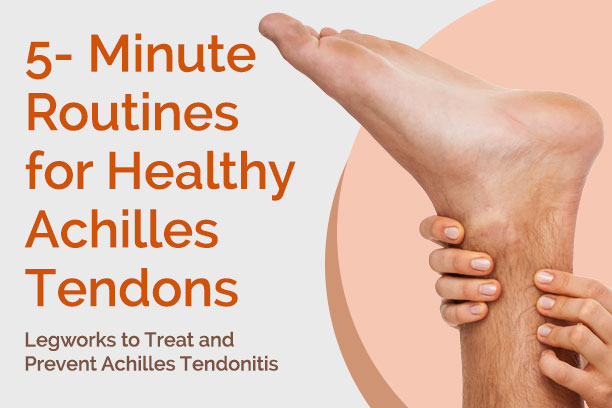 5-minute achilles tendonitis treatment and exercises, Human Body