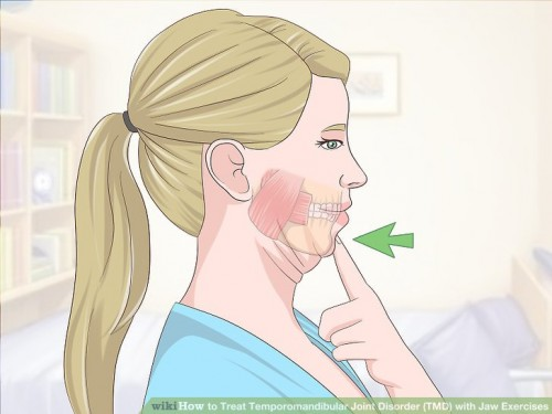 TMJ Exercises Chin Tucks