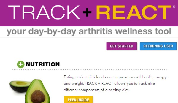 track and react arthritis wellness program